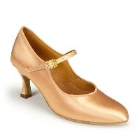 Туфли женские St International Dance Shoes (IDS) ICS Classic Flesh Satin