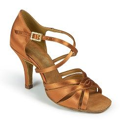 Туфли женские La International Dance Shoes (IDS) Mia Tan Satin