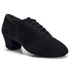 Туфли мужские La  International Dance Shoes Rumba - Black Lycra